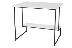Стол письменный Скилл белый/черный - Мебельная фабрика «Мебелик»