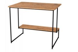 Стол письменный Скилл дуб американский/черный - Мебельная фабрика «Мебелик»