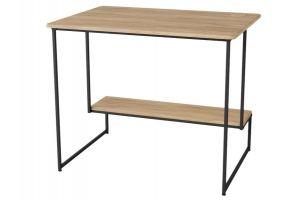 Стол письменный Скилл дуб сонома/черный - Мебельная фабрика «Мебелик»