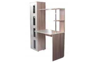 Стол письменный со шкафом - Мебельная фабрика «Мебель Эконом»