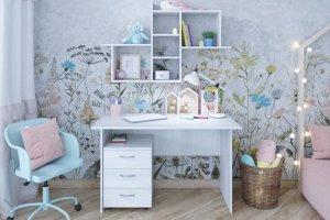 Стол письменный светлый - Мебельная фабрика «ЯРОФФ»