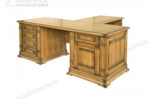 Стол письменный Верди 510 - Мебельная фабрика «Фабрика натуральной мебели»