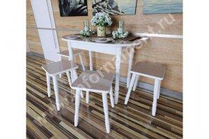 Стол полуовал 2 - Мебельная фабрика «Орнамент»