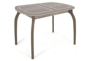 Стол Портофино-1 стекло капучино - Мебельная фабрика «Кубика»