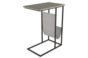 Стол придиванный Бали скания натуральная/черный - Мебельная фабрика «Мебелик»