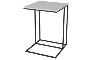 Стол придиванный Хайгрет белый/черный - Мебельная фабрика «Мебелик»