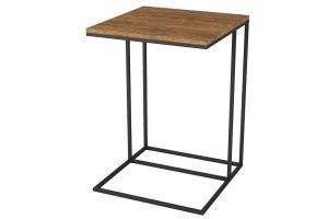 Стол придиванный Хайгрет дуб американский /черный - Мебельная фабрика «Мебелик»