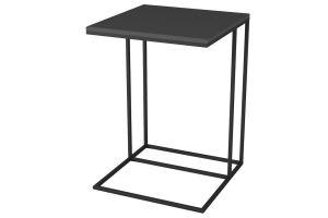 Стол придиванный Хайгрет графит/черный - Мебельная фабрика «Мебелик»