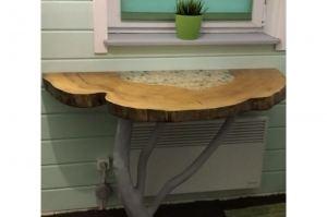 Стол пристенный дерево - Мебельная фабрика «Массив»