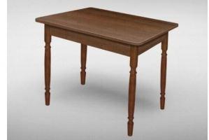 Стол прямоугольный ЛДСП точеные ноги - Мебельная фабрика «VALERIA»