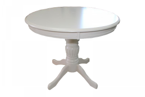 Стол Queen DMT4ex2 белый - Импортёр мебели «ТМК»