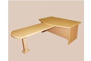 Стол рабочий с приставкой - Мебельная фабрика «Мартис Ком»