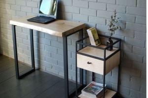 Стол рабочий в стиле Лофт - Мебельная фабрика «ЯСЕНЬ-ПЕНЬ»
