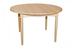 Стол раскладной круглый из массива - Мебельная фабрика «Упоровская мебельная фабрика»