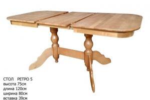 Стол раскладной Ретро 5 - Мебельная фабрика «А-2»