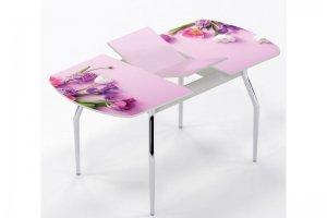 Стол раздвижной Два букета - Мебельная фабрика «Рим»