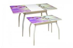 Стол раздвижной М35 Алиот с фотопечатью - Мебельная фабрика «Балтика мебель»