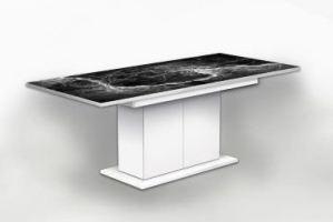 Стол раздвижной на тумбе Камень 9 - Мебельная фабрика «Рим»