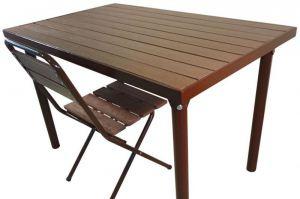 Стол  Ривьера-2 - Мебельная фабрика «Металл конструкция»