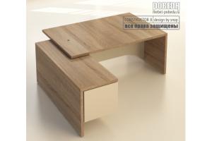 Стол руководителя - Мебельная фабрика «Победа»