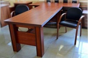 Стол руководителя с брифинг приставкой 12 - Мебельная фабрика «Орвис»