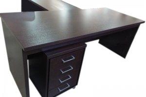 Стол руководителя с брифинг приставкой 4 - Мебельная фабрика «Орвис»