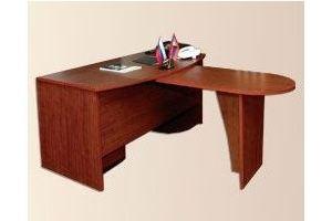 Стол руководителя с приставкой - Мебельная фабрика «Мартис Ком»