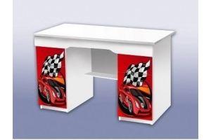 Стол с двумя тумбами Скорость красная - Мебельная фабрика «Рим»