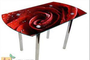 Стол с фотопечатью - 2 - Мебельная фабрика «Манго»