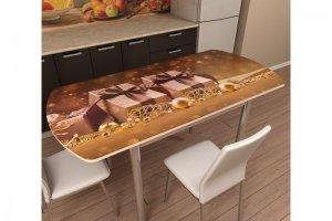 Стол с фотопечатью раздвижной - Мебельная фабрика «Трио мебель»