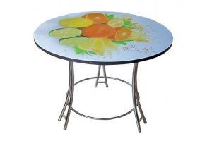 Стол с фотопечатью Салют-2 - Мебельная фабрика «ЛиО»
