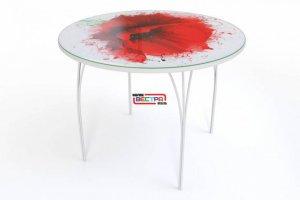 Стол с фотопечатью СФ-3 - Мебельная фабрика «Вестра»