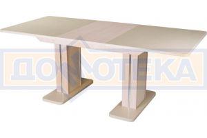 Стол с искусственным камнем Альфа ПР-2  - Мебельная фабрика «Домотека»