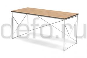 Стол с кабель-каналом Кубо - Мебельная фабрика «ДЭФО»