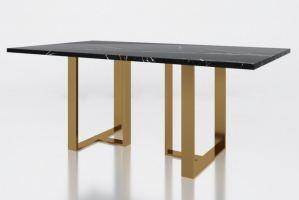 Стол с мраморной столешницей Армстронг - Мебельная фабрика «АЛЕТАН»