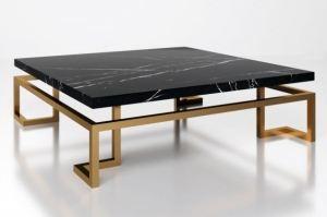 Стол с мраморной столешницей Дэвис - Мебельная фабрика «АЛЕТАН»