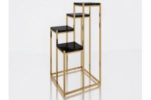 Стол с мраморной столешницей Эллингтон - Мебельная фабрика «АЛЕТАН»