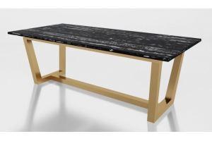 Стол с мраморной столешницей Мингус - Мебельная фабрика «АЛЕТАН»
