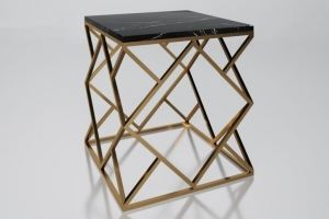 Стол с мраморной столешницей Монк - Мебельная фабрика «АЛЕТАН»