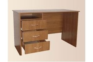 Стол с подвесной тумбой с ящиками - Мебельная фабрика «Мартис Ком»