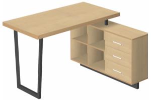 Стол с тумбой Loft - Мебельная фабрика «3 + 2»
