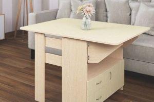 Стол с ящиками Бабочка - Мебельная фабрика «CHROME STYLE (ИП Комалев)»