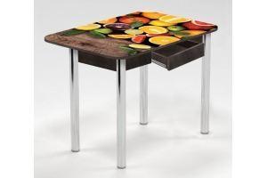 Стол с ящиком Цитрусы - Мебельная фабрика «Рим»