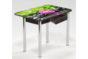Стол с ящиком Несравненная орхидея - Мебельная фабрика «Рим»