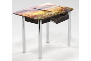 Стол обеденный с ящиком Париж - Мебельная фабрика «Рим»