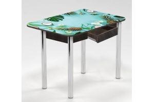 Стол с ящиком Тропическая свежесть - Мебельная фабрика «Рим»