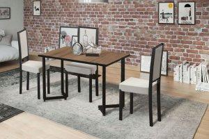 Стол в стиле лофт Трапеция 2 - Мебельная фабрика «Юлдуз»