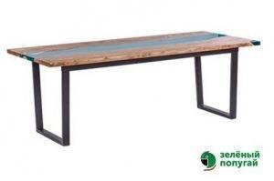 Стол Слеб с полимером - Мебельная фабрика «Зеленый попугай»
