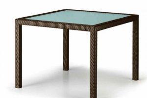 Стол со стеклянной столешницей MODERN - Мебельная фабрика «Dome»