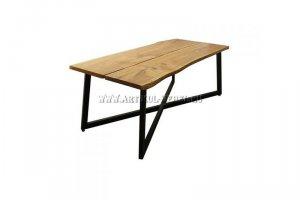 Стол со столешницей из массива дуба - Мебельная фабрика «Артикул-Мебель»